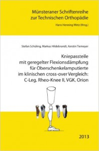Vergleich VGK C-Leg Theo Orion Prothese Kniegelenk